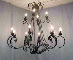 outstanding hanging candle chandelier medium size of wrought iron candle chandelier with glass chandeliers design awesome best round black hanging large