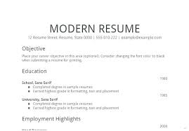 Objective Of Resume For Internship Simple Resume Objectives Menu and Resume 27