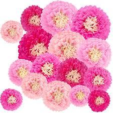 Tissue Paper Flower Ideas