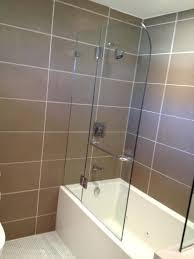 shower splash guard bathtub glass target clear