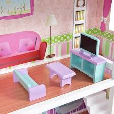 Barbie dollhouse furniture sets Life Size Mcc Wooden Kids Doll House With Furniture Staircase Fits Barbie Dollhouse Amazoncouk Toys Games Pinterest Mcc Wooden Kids Doll House With Furniture Staircase Fits Barbie