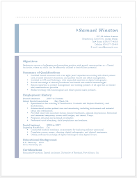 Resume Templates For Dental Assistant Stunning Dental Assistant Resume Microsoft Word Templates