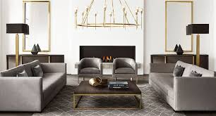 View in gallery Brass furniture and decor from RH Modern