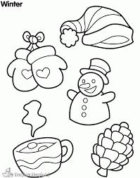 Kleurplaten Kleurplaat Winter Vol Sneeuwpret Seizoen 3206