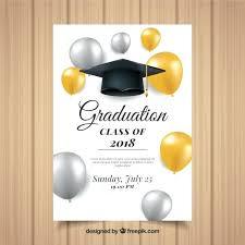 Graduation Flyer Template Elegant Graduation Invitation