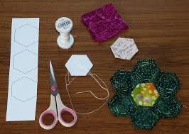 Paper Piecing Flower English Paper Piecing My Grandmas Flower Garden Quilt How To