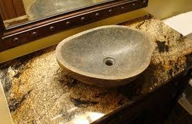 granite vanity top with undermount sink bathroom view r