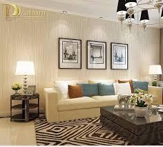 modern luxury beige blue brown textured plaid wallpaper for walls 3 d bedroom living room sofa