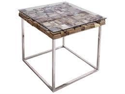 star international furniture taj viaggi stainless steel magnolia teak wood 24 x