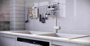 Splashback For White Kitchens White Gloss Kitchen Splashback Ideas Yes Yes Go