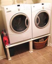 washer and dryer stands. Easy DIY Washer And Dryer Stand. I Am Pinning This So Mike Can Do When We FINALLY Get New Machines! Stands