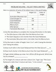 Math Worksheets For 5th Grade Word Problems Printable Sheets ...