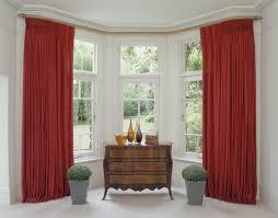 eyelet curtains on bay window bay window eyelet curtain pole