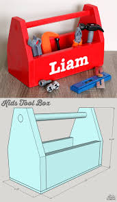 how to build a diy kids tool box free building plans by jen woodhouse