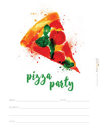 Tea Party Free Printables Hostess Helpers Free Pizza Party Printables Tea Party