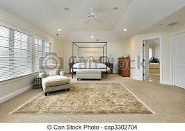 Master Bedroom With Tray Ceiling   Csp3302704