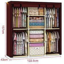 com youzee home portable fabric cover cloth hanger rack new elegantbe organizer pictures ideas wardrobe organizer uk app