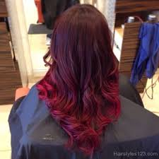 Hairstyle Ombre red ombre hairstyles billedstrom 2473 by stevesalt.us