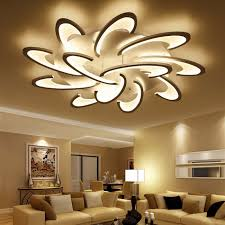 lican modern led ceiling chandelier light white black ac85 265v chandeliers fixtures for living room bedroom dining study room cool white 12 heads white