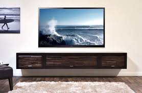 tv stand with wall mount. floating tv stand entertainment center - eco geo espresso tv with wall mount t