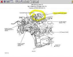2002 mercury sable idling very high engine performance problem 2carpros com forum automotive pictures 88091 merc iac 1