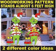 Grinch Yard Art Patterns