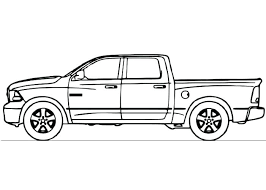 old chevy truck coloring pages printable free classic print