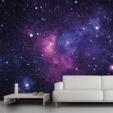 Space Bedroom Wallpaper Galaxy Wall Mural 13x9 54 Trying To Think Of Cool Wall Decor
