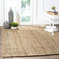 square sisal rug casual natural fiber hand woven natural accents chunky thick jute rug large square