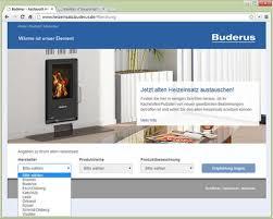 Austauschberater Von Buderus Findet Ersatz Für Alte Heizeinsätze