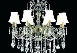 large rectangular crystal chandelier