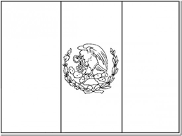 Small Picture Trend Mexico Flag Coloring Page 58 For Line Drawings with Mexico