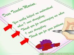 Thank You Letter To Teachers Delectable How To Write A Thank You Note To A Teacher With Sample Notes