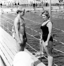 Nude male swim class