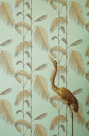 Palmbladeren Behang Home Stock
