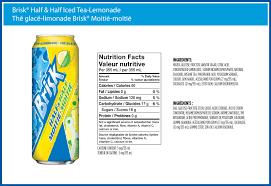 brisk tea lemonade