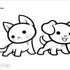 Vibrant Idea Cats And Dogs Coloring Pages Dog Cat Adult Together