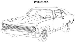 Small Picture Muscle car coloring pages to download and print for free