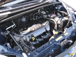 2003 Toyota ECHO Sedan 1.5 Liter DOHC 16-Valve 4 Cylinder Engine ...