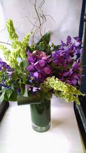 Purple Orchid, Bright Flowers, Orchid Arrangements, Tall Vases,  Minneapolis, Twin Cities, Flower Delivery, Downtown Florist, Purple Orchid  Flowers, ...