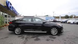 hyundai sonata 2015 sport black. Contemporary 2015 2015 Hyundai Sonata  Black FH071155 Skagit County Mt Vernon  YouTube Intended Sport A