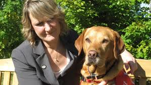 claire guest is the ceo of cal detection dogs a pany that trains dogs to