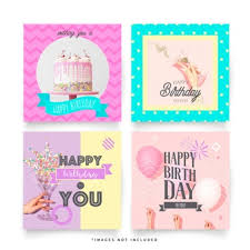 Templates For Birthday Cards Birthday Card Vectors Photos And Psd Files Free Download