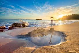 Beach Hot Water Beach The Coromandel