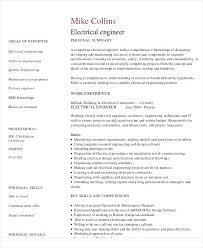 Electrical Engineering Resume Sample Electrical Engineering Resume