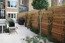 Contemporary Garden Fence Design