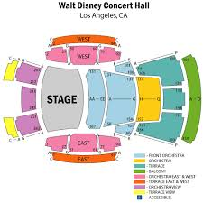Seating Chart For Disney Hall Walt Disney Concert Hall Seating Chart Map Best Picture Of
