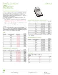 lighting contactors ge industrial solutions ge control catalog section 3 lighting contactors