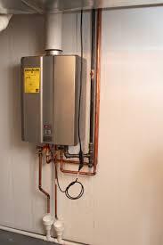rinnai ru98i tankless water heater installed
