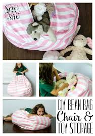 bean bag chair pattern toy storage jpg